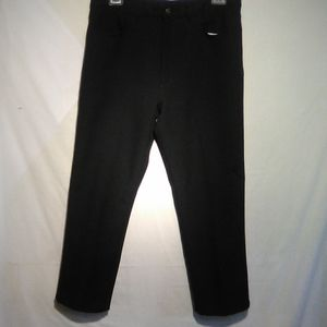 Texas safety jeans black dress pants. 38